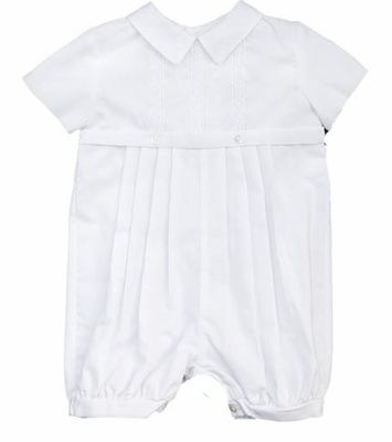 357a4b708 Christening Romper Embroidered 0-3 months