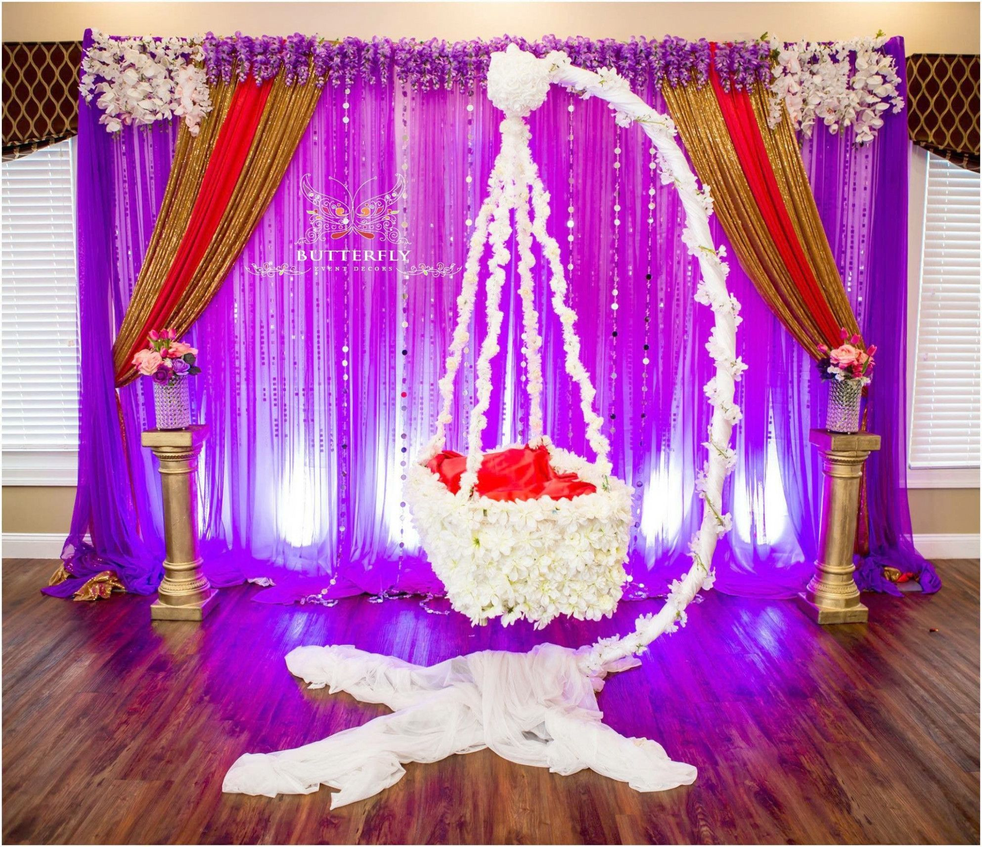 Indian Wedding Ideas Baby Shower | Naming ceremony decoration, Indian baby  shower decorations, Cradle ceremony