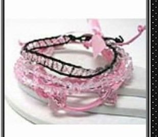 MULTI GLASS BEAD AND SUEDE CHAIN FRIENDSHIP BRACELET - FREE WRAP STYLE - $6.00 #onselz