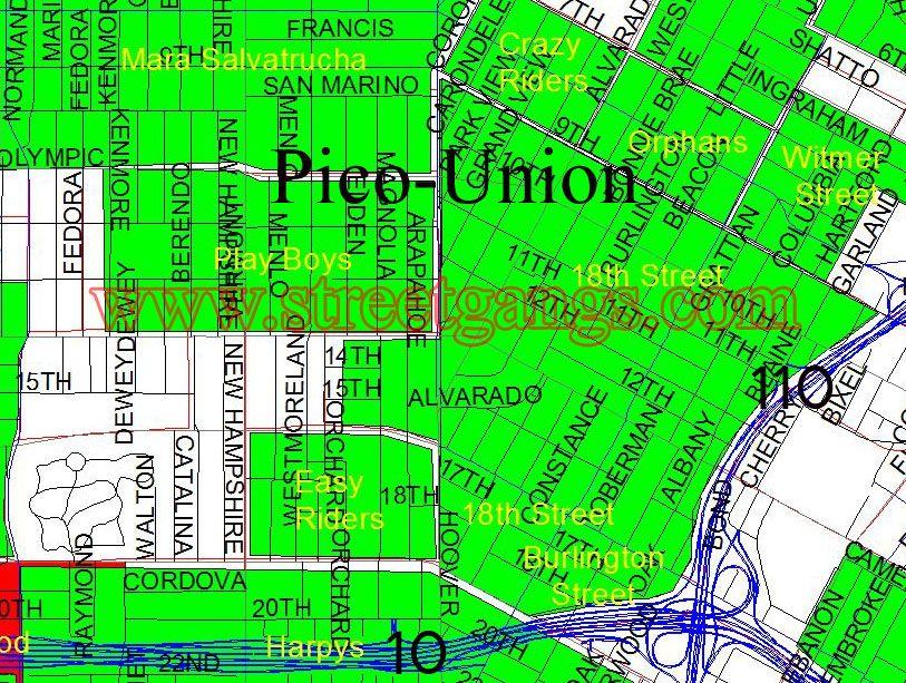 The Neighborhood I Grow Up In Vintage Los Angeles Union Arapahoe