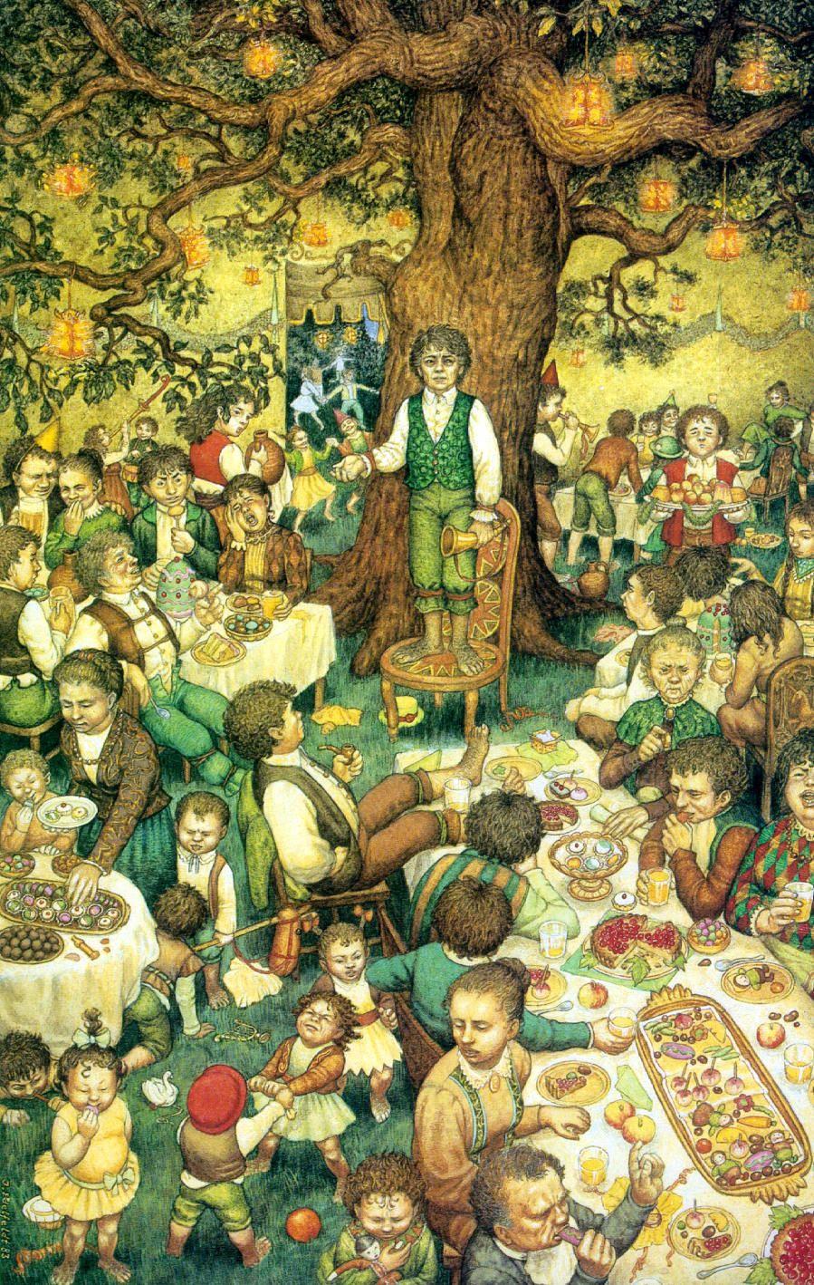 Fiesta de cumpleaños de Bilbo, Inger Edelfeldt