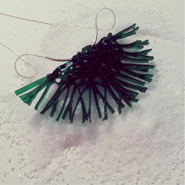 Collar Medusa Grande Verde