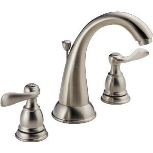 Delta Foundations 35996lf Bn Two Handle Widespread Lavatory Faucet Brushed Nickel Widespread Bathroom Faucet Delta Faucets Bathroom Sink Faucets