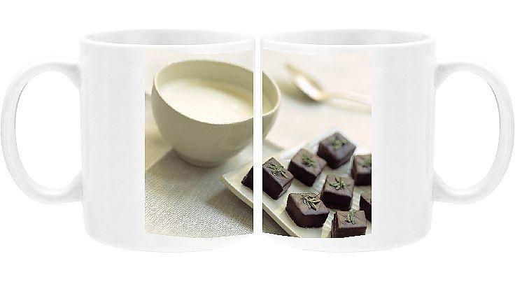 Photo of Print of Bowl of green tea ice-cream Green Tea greentea ice cream