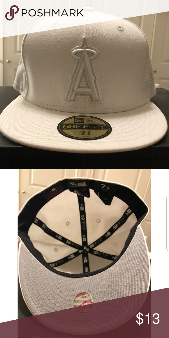 White Angels Fitted Hat Fitted Hats How To Clean Hats Hats