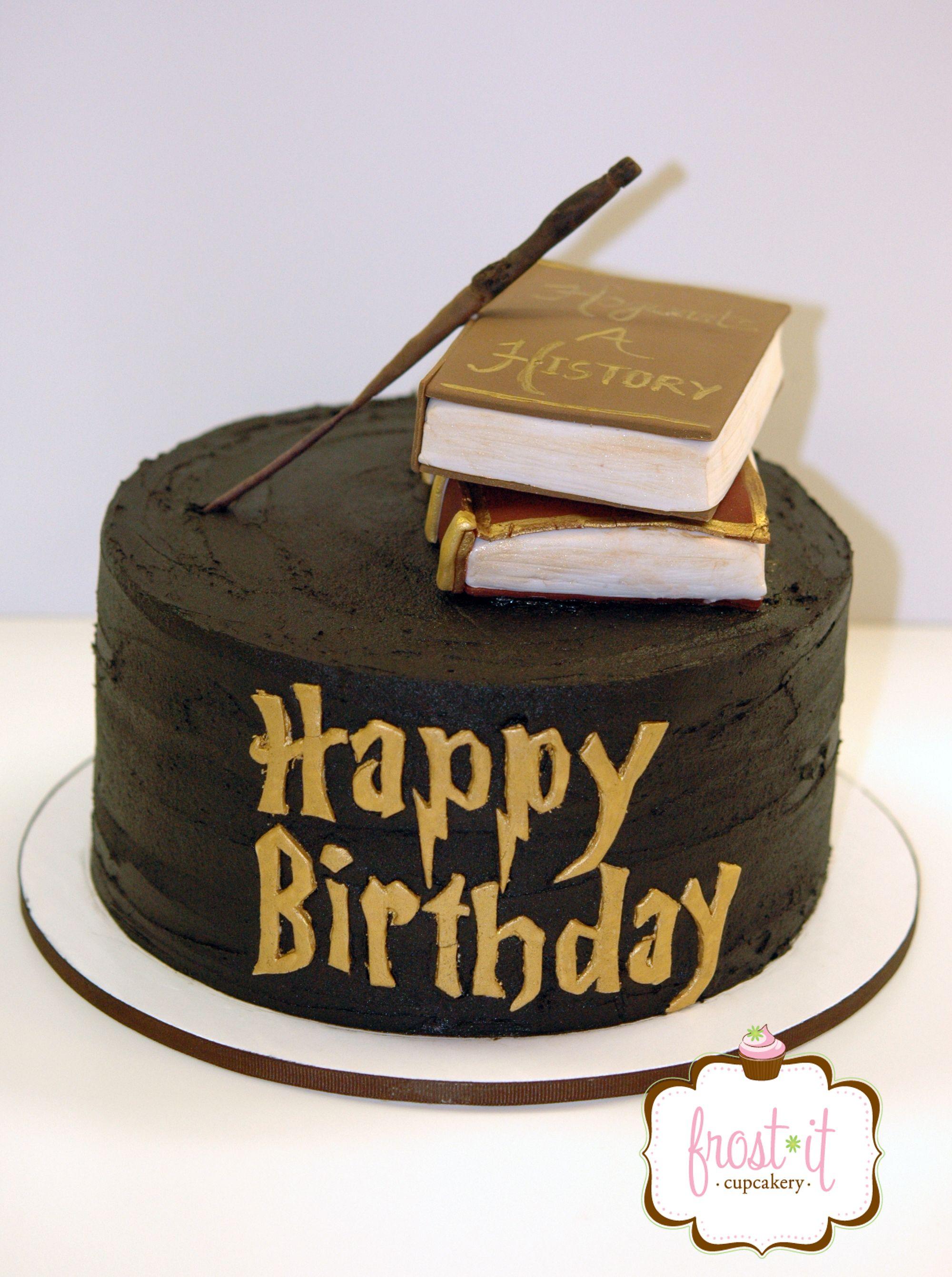 Harry Potter Cake Birthday Cake Custom Cakes Pinterest Harry