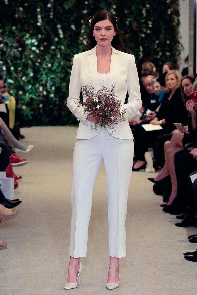 Wedding Trousers Should A Bride Wear Bridal Over Dress