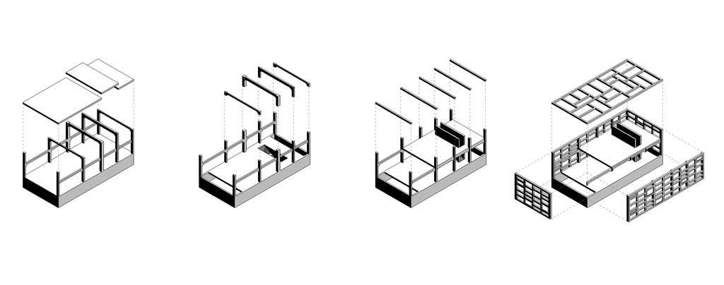 CONCURSO INTERNACIONAL REHABILITACIÓN DEL ANTIGUO ALMACÉN 5 DE LA FÁBRICA LAFARGE#arquitectura #architecture #proyecto #project #rehabilitacion #concurso #competition