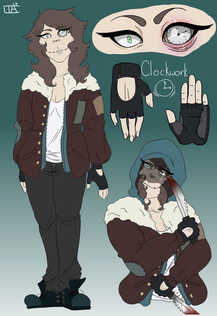 Clockwork Character Ref  by RandomnessCreativity   Inspiration