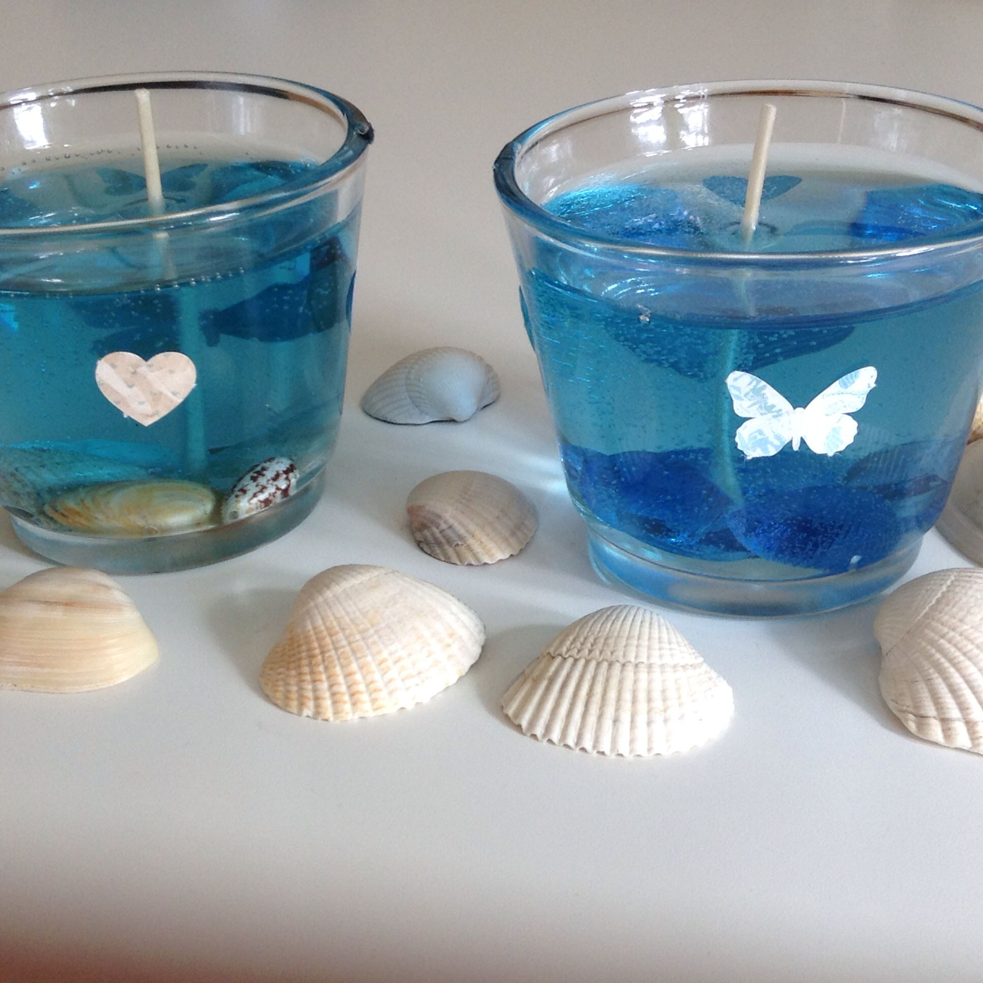 Homemade candles by Ava