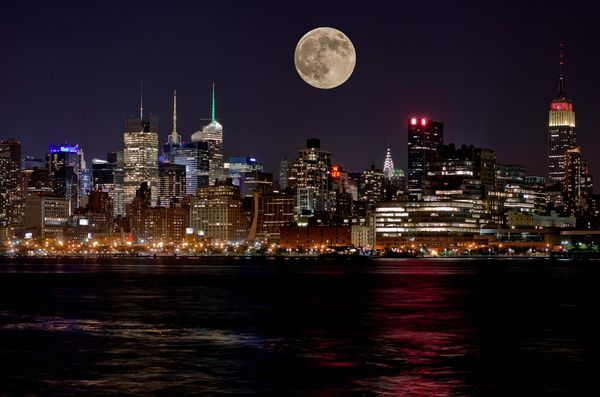 http://www.printedart.com/content/supermoon-over-new-york-city  Milisa S: Supermoon over NYC  Available with acrylic finish for a float-on-the-wall display in sizes up to 63 x 42 inches.