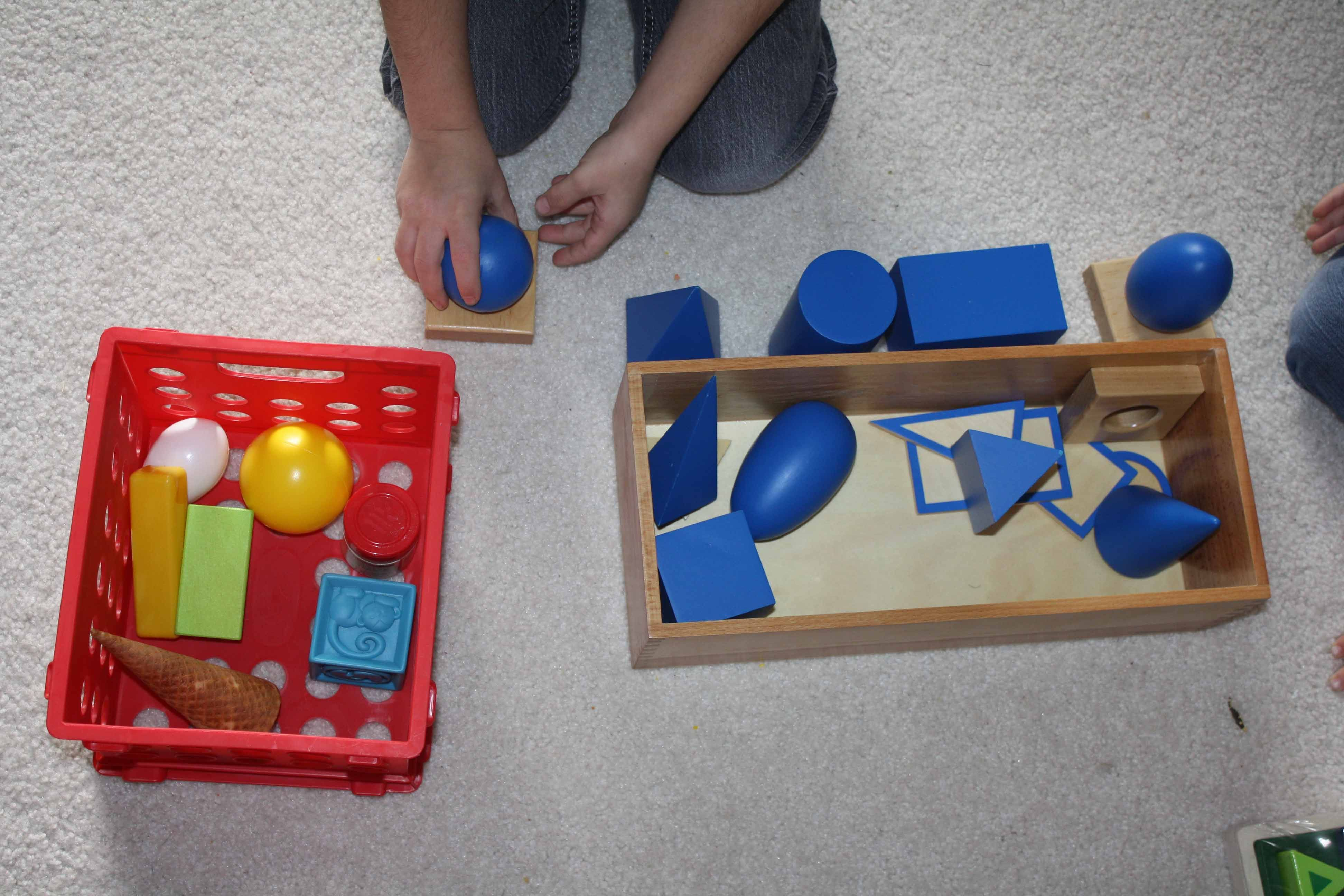 Matching Real Life Objects To The Geometric Solids From