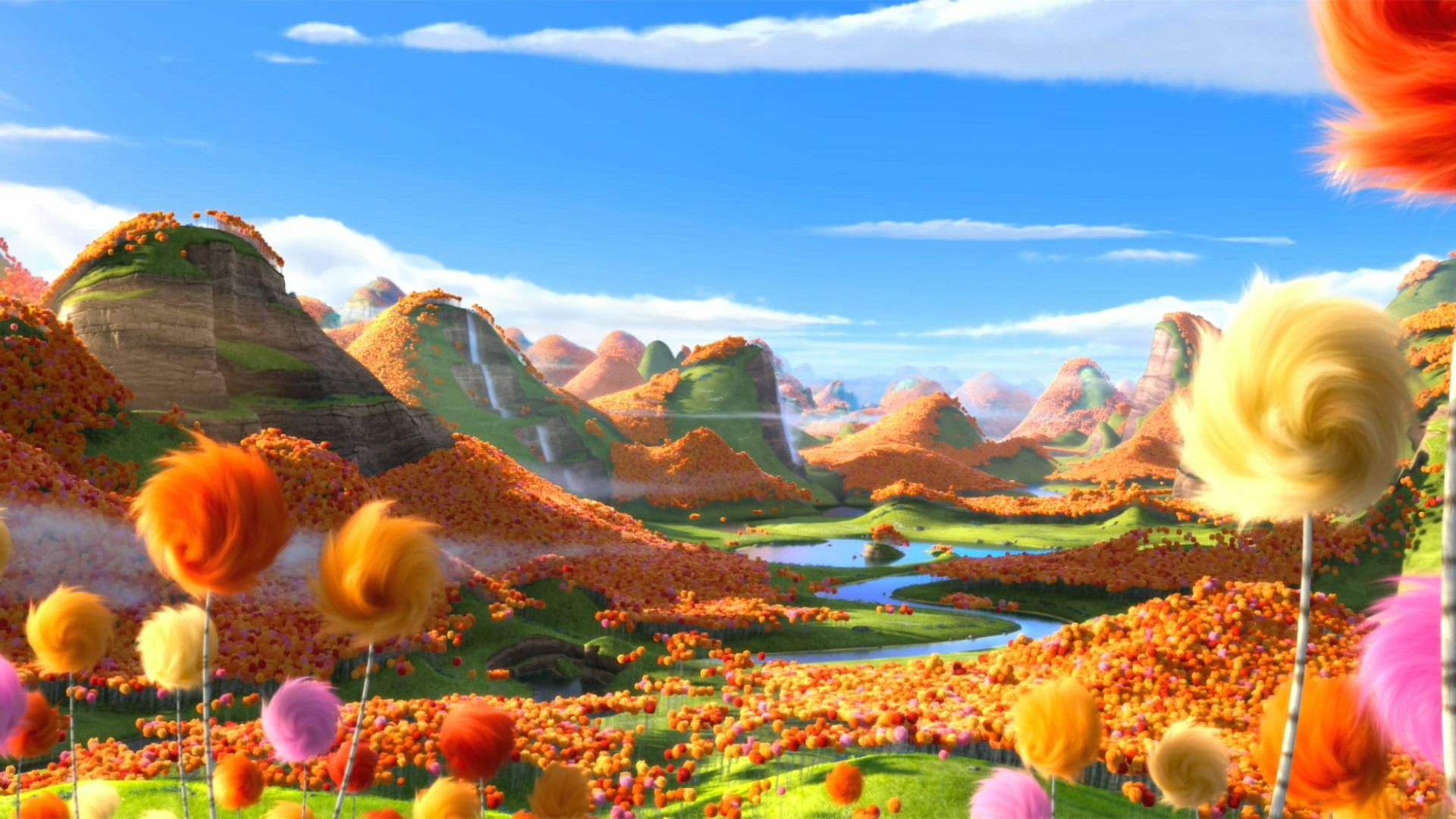 The Lorax Image Hd Paysage Dr Seuss