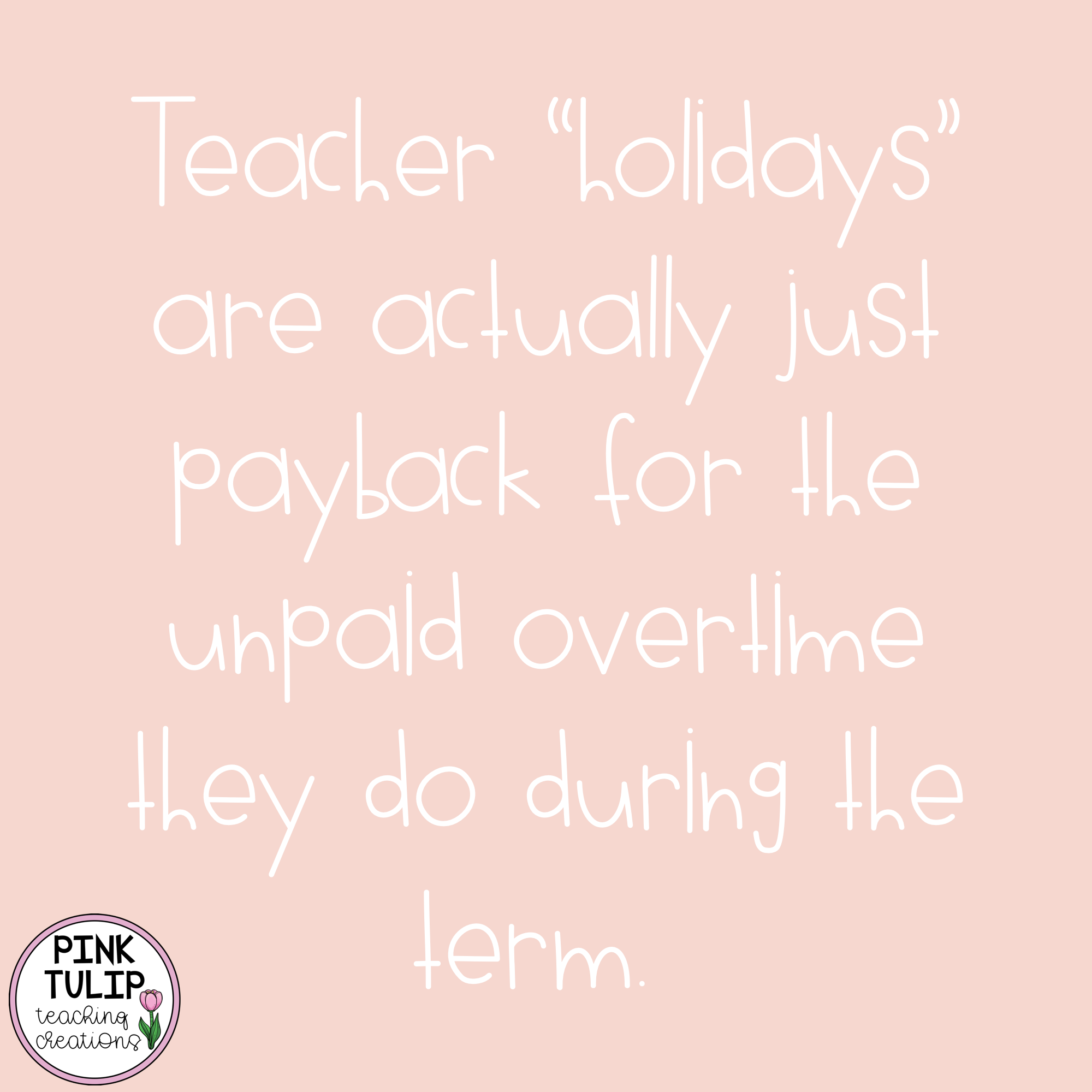 Teacher Holidays Are Actually Just Payback For The