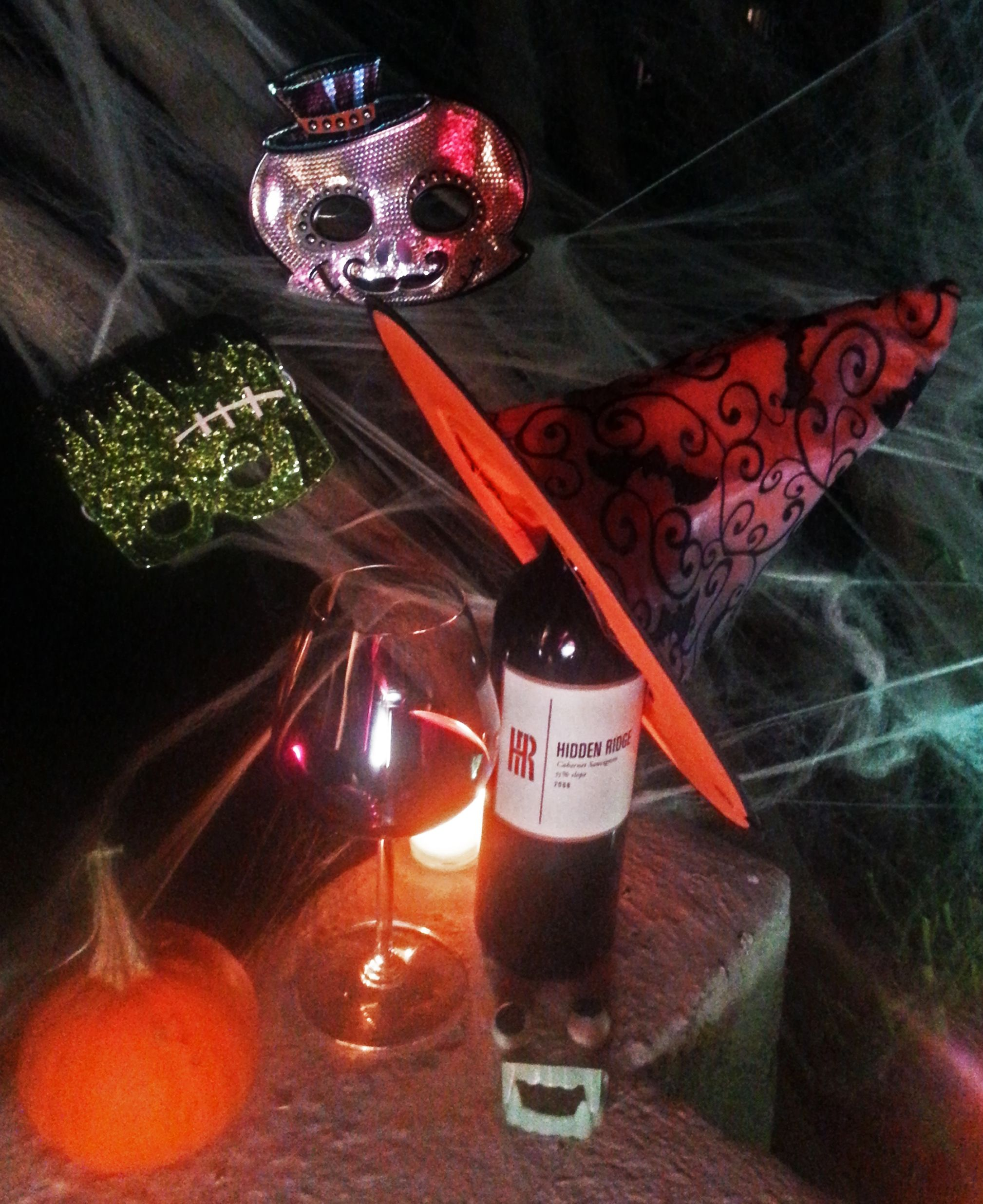 Hidden Ridge Vineyard Hopes Your Halloween Is Full Of Treats Hiddenridgevineyard Cabernet Californiawine Wine Tric California Wine Alcoholic Drinks Wine