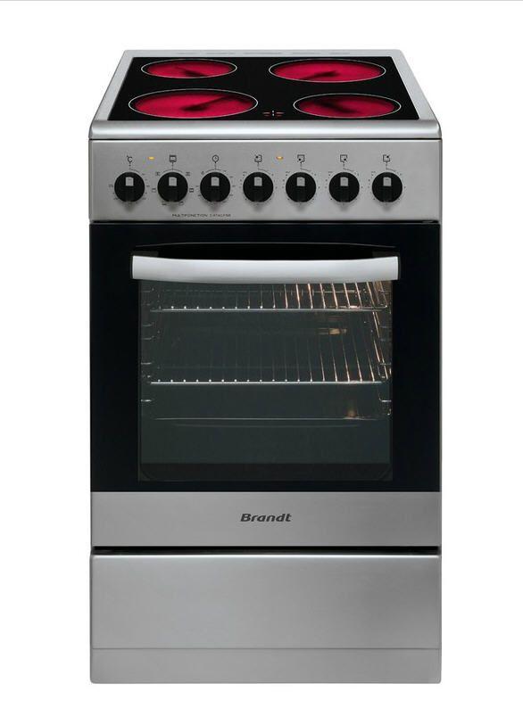 brandt kv1550x inox pas cher prix promo cuisini re. Black Bedroom Furniture Sets. Home Design Ideas