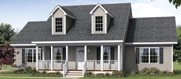 The Julian Ii Cape Cod Modular Home Modular Homes Farmhouse Style House Plans Custom Modular Homes