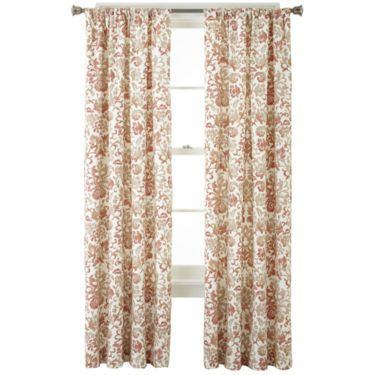 Home Expressions Tessa Thermal Back Rod Pocket Curtain Panel