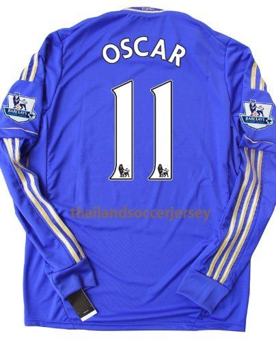 Ls Long Sleeve New Epl 12 13 Chelsea Home Football Shirt Oscar 11 Soccer Jersey Us Small By Thailand Football Shirt 4 Football Shirts Soccer Jersey Jersey