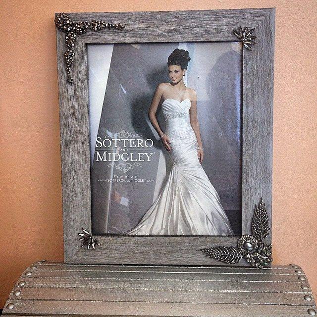 8x10 Elegant Picture Frame 8x10 Silver Wedding Picture Frame Unique ...