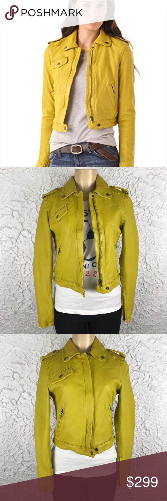 922de3d32162 New Current Elliott The Zip up moto jacket size 2 NWT