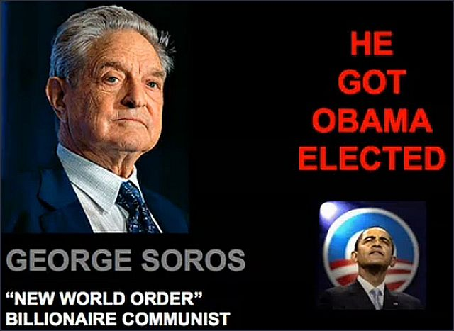 GEORGE SOROS (Nazi collaborator ) IS OBAMA'S BOSS AND AMERICA'S DEFACTO  DEMOCRAT .