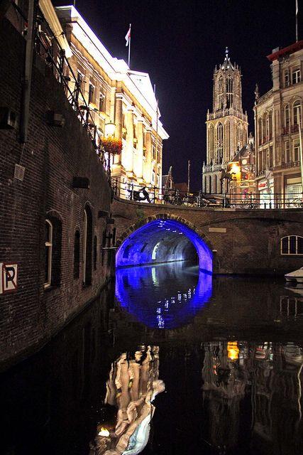 Utrecht Night, Netherlands