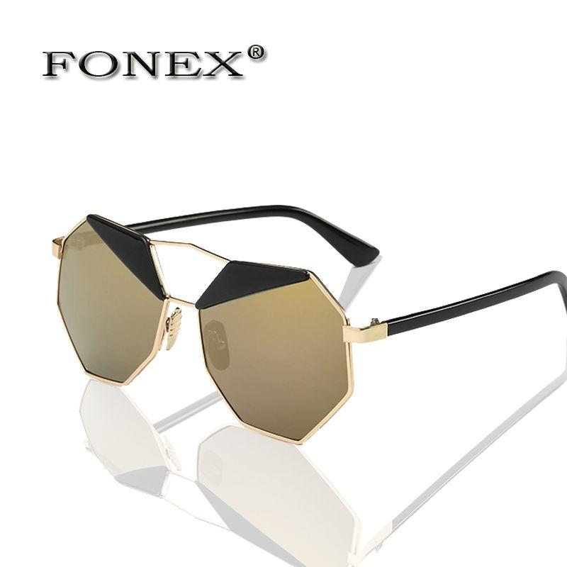 $5.44 (Buy here: https://alitems.com/g/1e8d114494ebda23ff8b16525dc3e8/?i=5&ulp=https%3A%2F%2Fwww.aliexpress.com%2Fitem%2FFONEX-Brand-Fashion-Women-s-sunglasses-gafas-De-sol-soleil-semilunar-eyebrow-octagon-unique-Personality-free%2F32718189639.html ) FONEX Brand Fashion Women's sunglasses  gafas De sol  soleil semilunar eyebrow octagon unique Personality free shipping 98678 for just $5.44