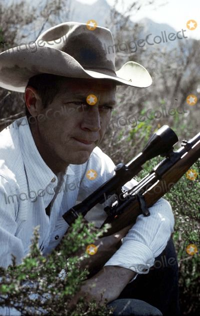 Image result for steve mcqueen carrying a gun outdoors photo print
