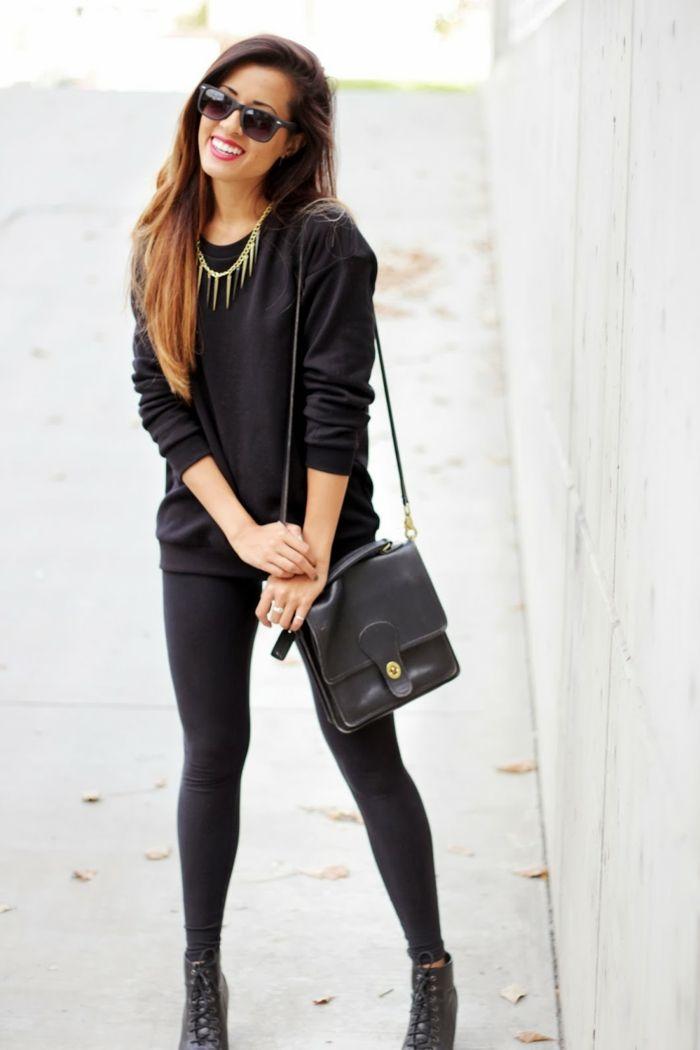 1001 bonnes raisons pourquoi s 39 habiller en noir mode femme pinterest l vres rouges lacet. Black Bedroom Furniture Sets. Home Design Ideas