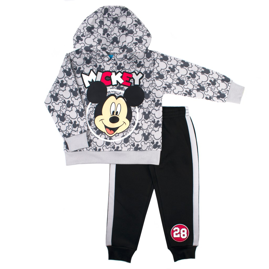 cebcfd060cfe Disney s Mickey Mouse Toddler Boy Pullover Hoodie   Jogger Pants Set ...