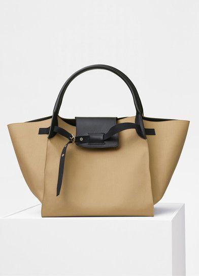 150e015d6f Medium Big bag in rain coat fabric - Céline