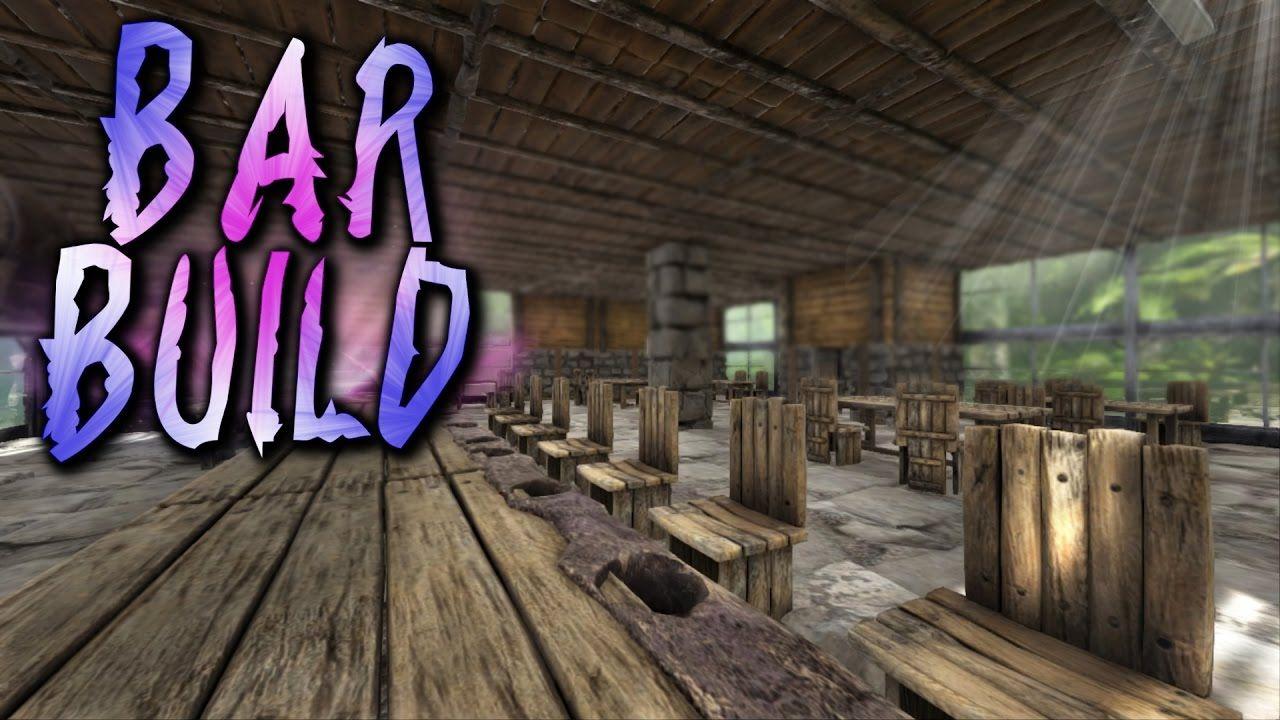 Ark Bar & Inn Build Guide! Colonization S1E7 - ARK: SURVIVAL