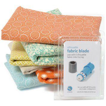 Silhouette Fabric Blade Craft Robo Tissu Silhouette