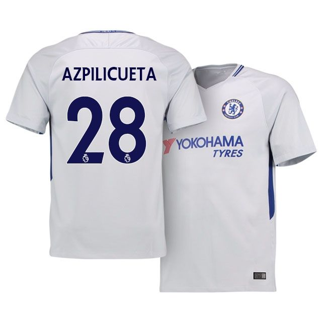 on sale ffb80 10fbd 17-18 Chelsea Away Shirt cesar azpilicueta | chelsea jerseys ...