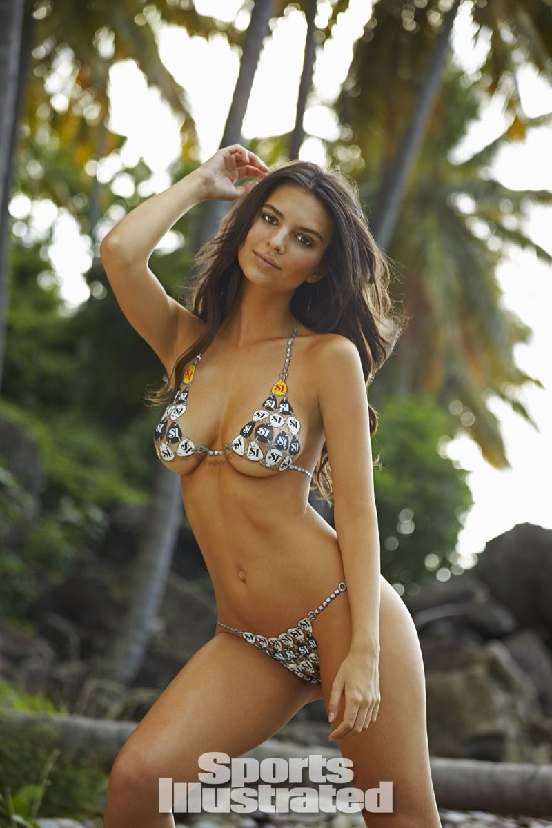 Emily Ratajkowski Swimsuit Body Paint - Sports Illustrated Swimsuit ...