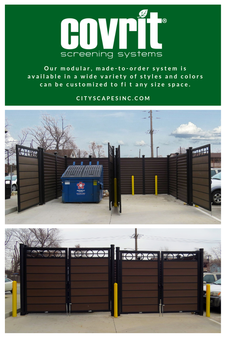 Covrit Dumpster Enclosures And Surrounds In 2020 Enclosures Dumpster Clapboard