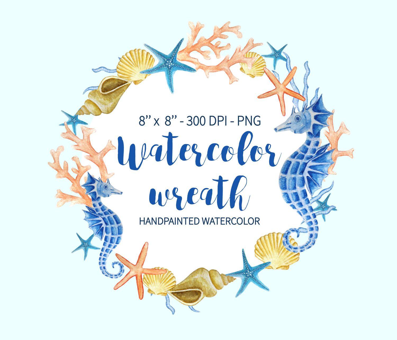 Beach Wedding Clipart Nautical Wedding Invitation Clip Art Sea  Ocean Wedding Clipart