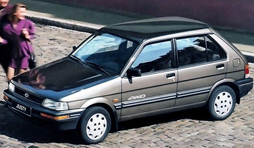 Subaru Justy I 84 95 Frontscheibe Subaru Justy Frontscheibe Subaru