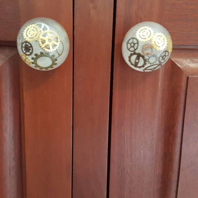epoxy resin door knobs Ste&unk door knobs & This is an easy way to make your own custom door knobs to totally ...