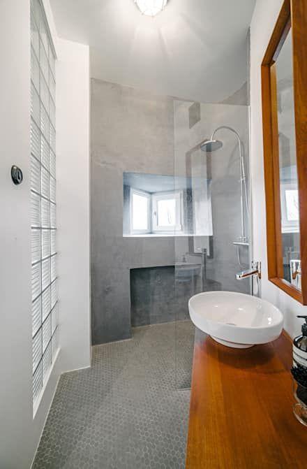 Badezimmer Ideen Design Und Bilder Skandinavisches Badezimmer