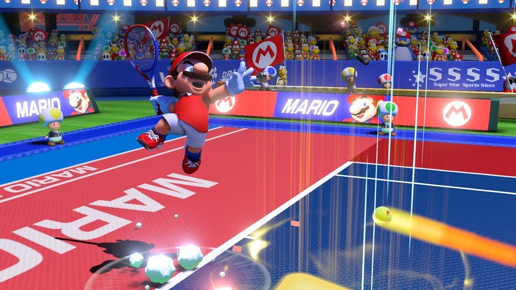 'Mario Tennis Aces' Hitting the Sweet Spot with a Good