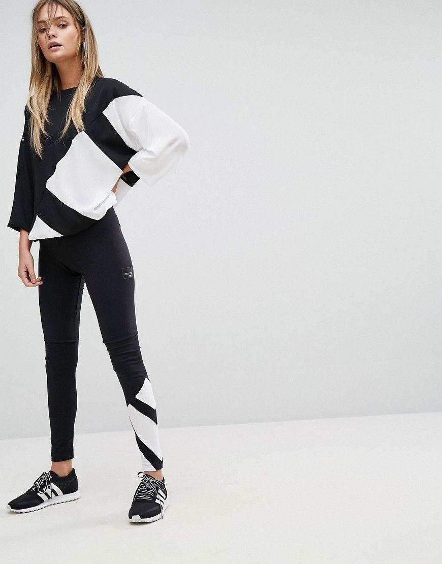 adidas Originals EQT Legging In Black