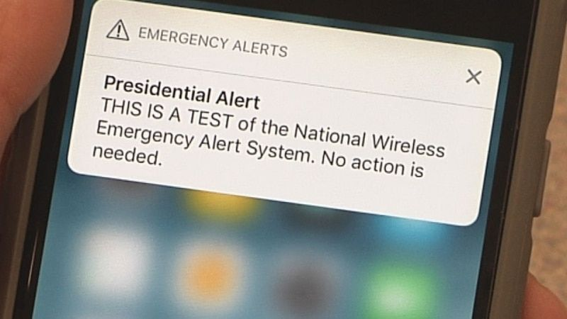 Presidential Emergency Alerts Can Be Easily Spoofed Using Lte Flaws Spoofs Emergency How To Find Out