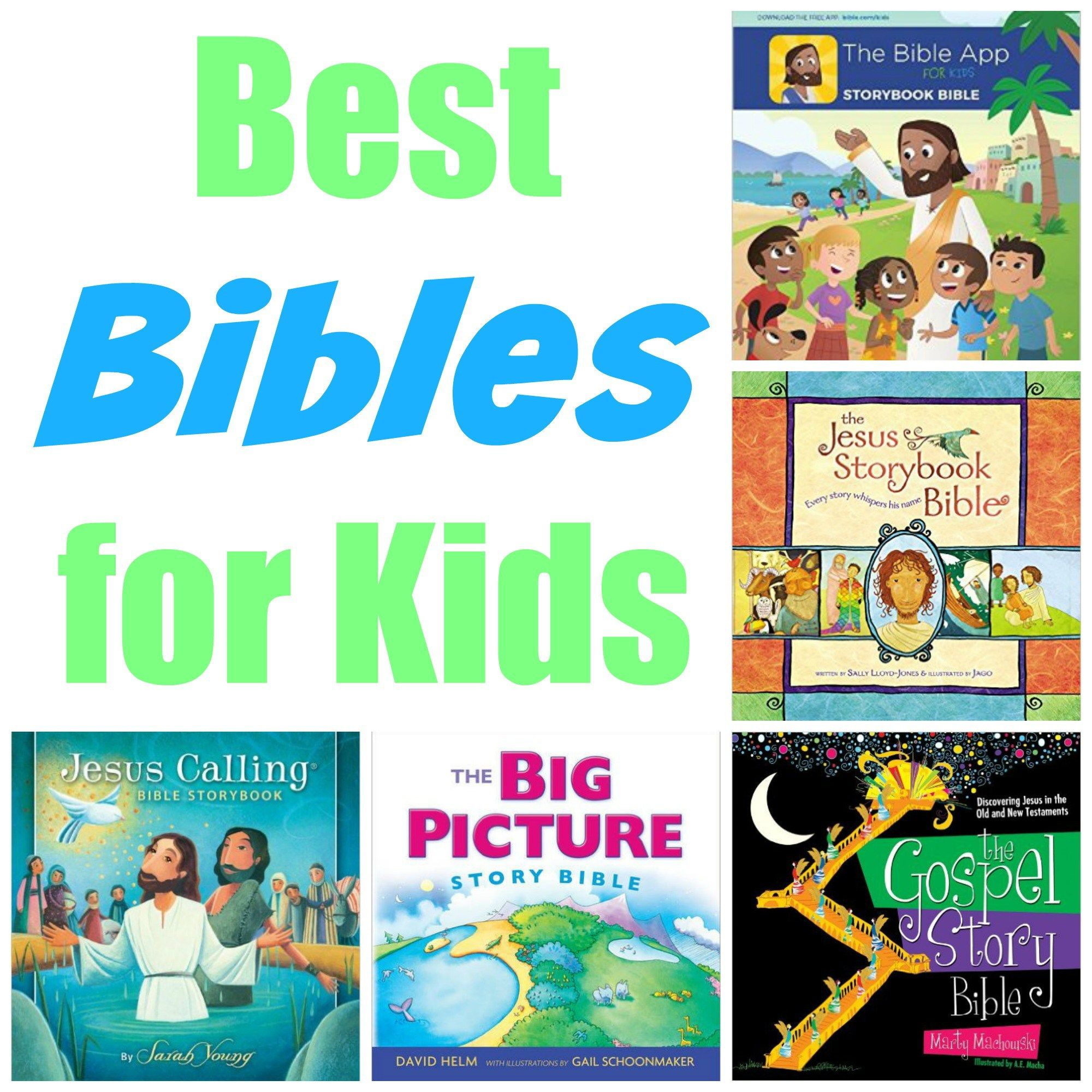 Best bibles for kids easter baskets easter and sunday school sunday school crafts best bibles for kids great ideas to add to an easter basket negle Images