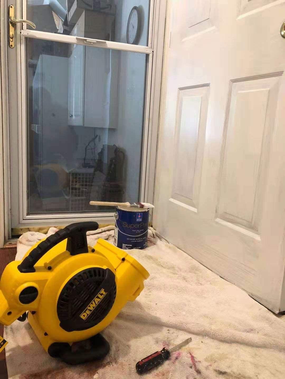DeWalt DXAM2260 Portable Air Mover Floor Dryer, 600 Cfm