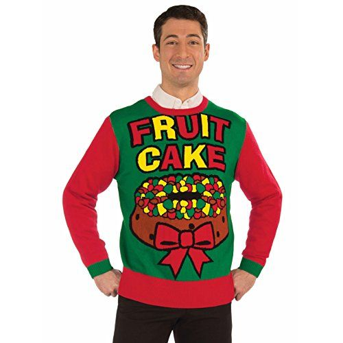 Fruit Cake Christmas Ugly Sweater Forum Novelties #christmasnmore