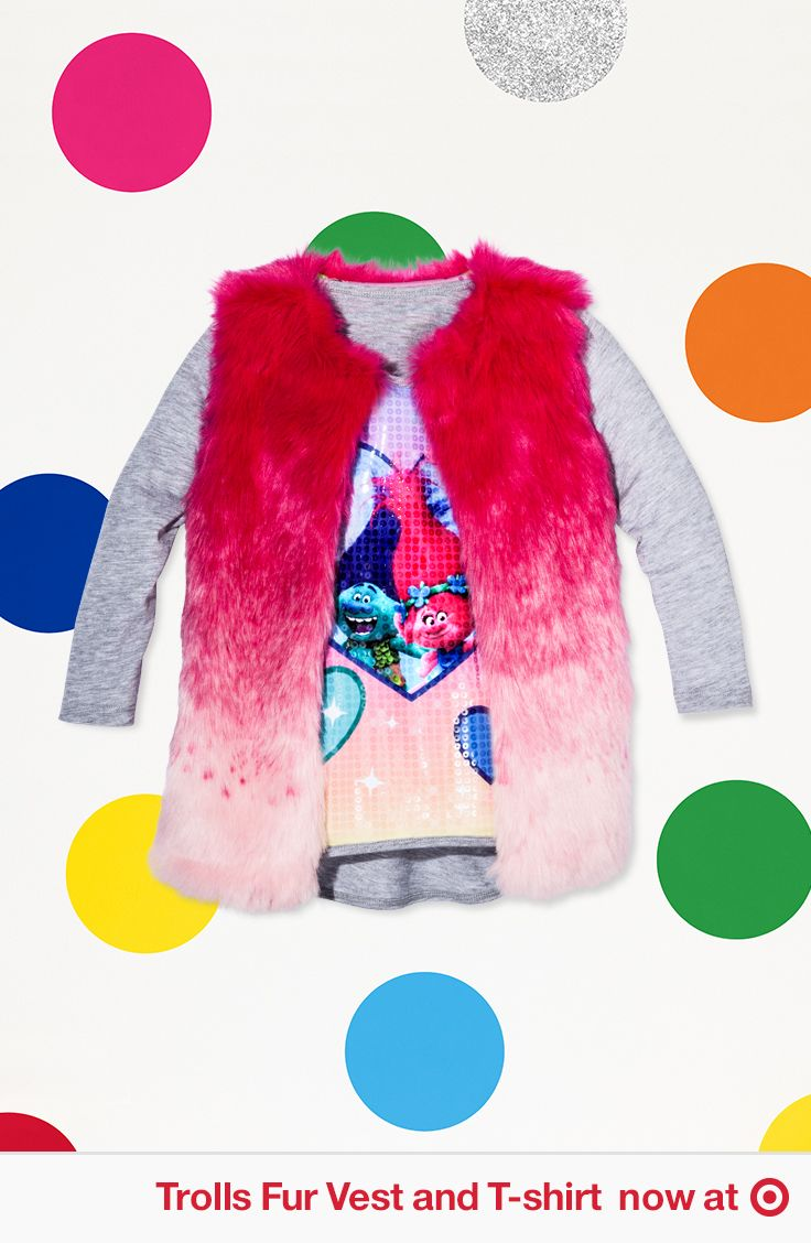 873e27db2 Rock Your True Colors with fur and sparkles. Find apparel and more fun  DreamWorks Trolls gear at Target.