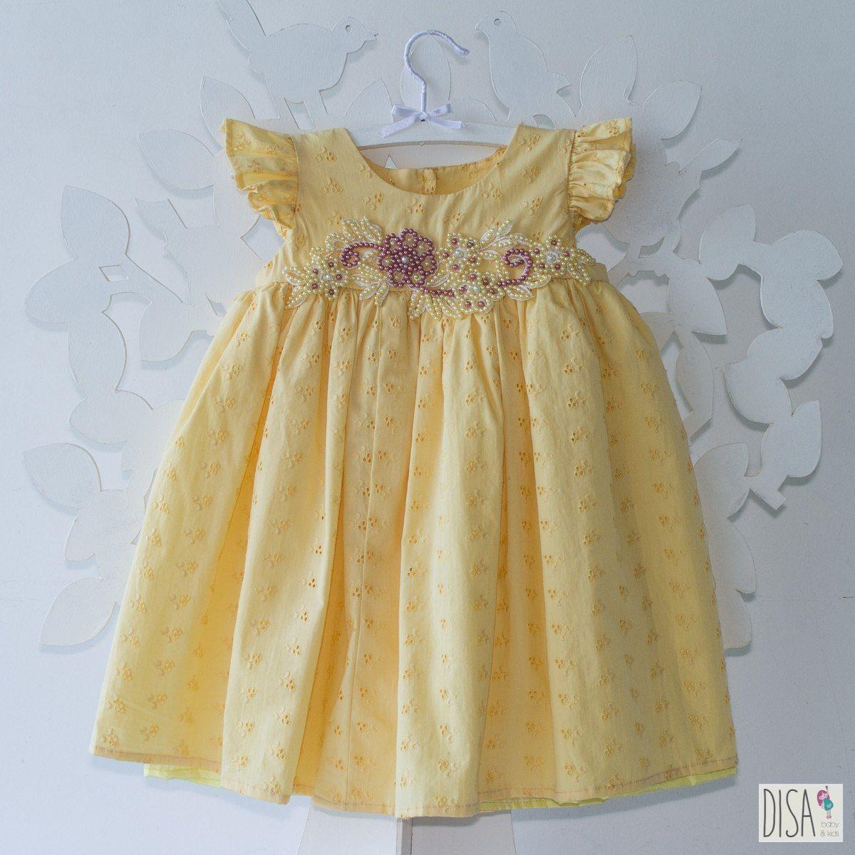 64688c9cb vestido de lese festa batizado dama feito sob medida lindo!   Baby ...