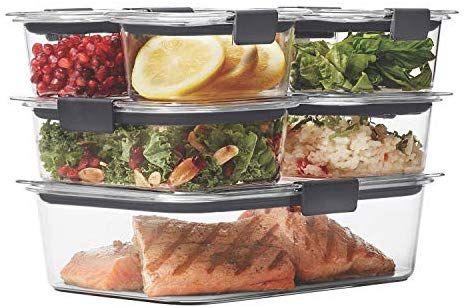 Rubbermaid Brilliance Food Storage Container 14 Piece Set